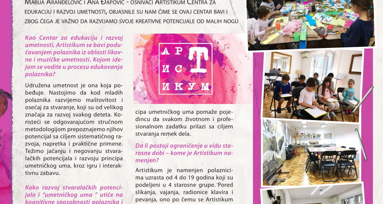 Intervju u magazinu Sensa