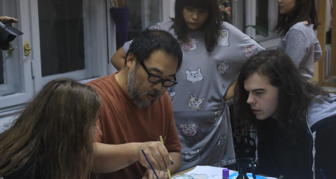 U poseti: Japanski slikar Jasunari Ishida