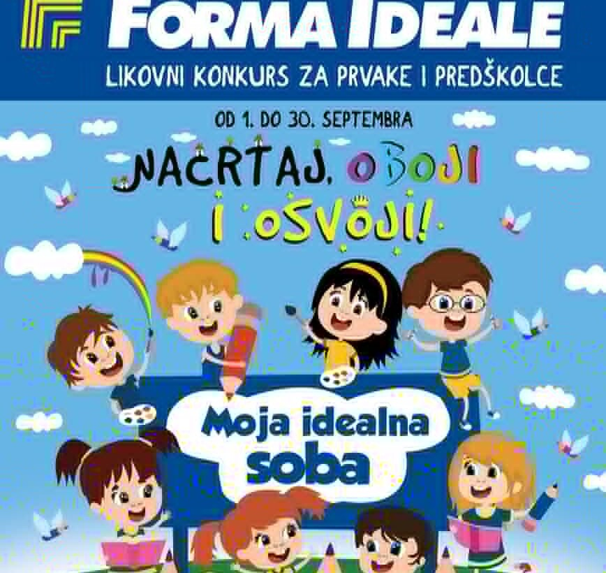 NAGRADE na dečijem likovnom konkursu – Forma Ideale